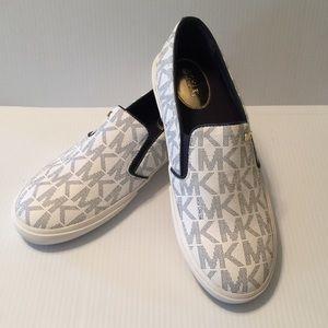 Michael Kors Slip-on Sneakers 9.5M PVC Upper EUC